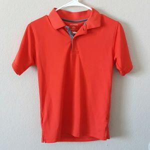 George Polo shirt orange size Large